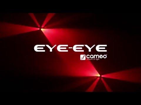 Effet Derby CAMEO EYE EYE 24 Leds RGBA 3W vidéo
