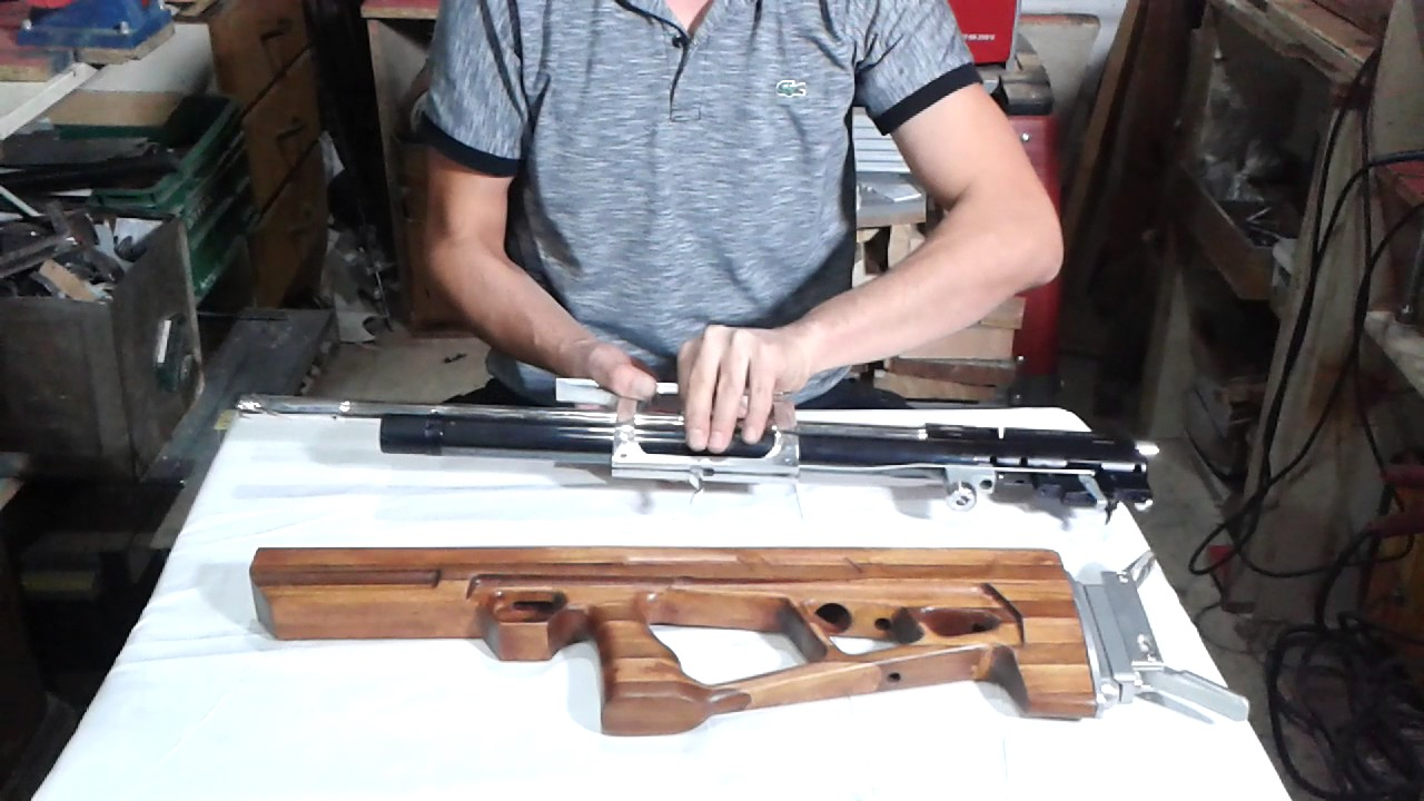 air arms bullpup stocks trigger system - YouTube