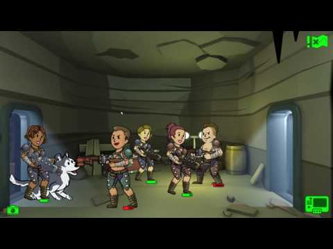 Fallout Shelter Spy On Raiders!