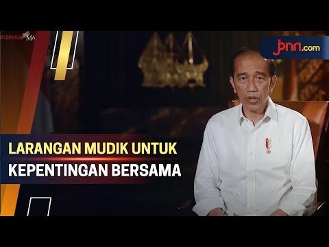 Jokowi: Jangan Mudik, Mari Utamakan Keselamatan Bersama