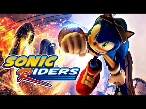 SONIC RIDERS All Cutscenes (Heroes Story) Game Movie 1080p HD