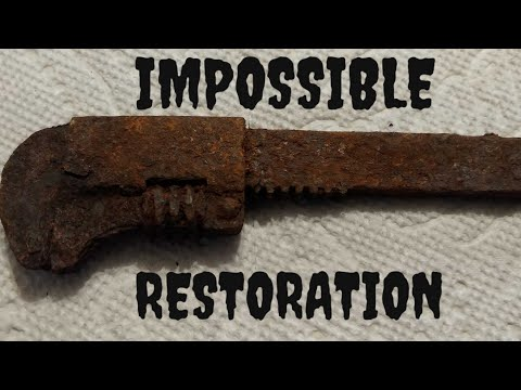 IMPOSSIBLE RUSTY WRENCH RESTORATION
