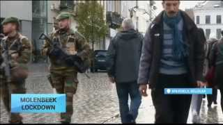 Lockdown in Brussels: Police hunt for suspects in November 13 Paris attacks