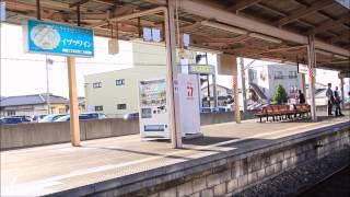 【大音量注意】旧型客車かもしか3号塩尻発車(車窓)