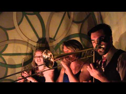 "Baby Soda Jazz Band at St. Mazie Bar - Brooklyn, NY - ""Just a Little While to Stay Here"""