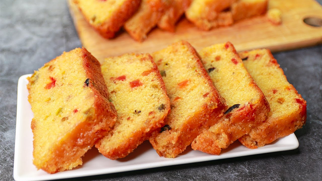Britannia Fruit Cake | Eggless & Without Oven | Yummy