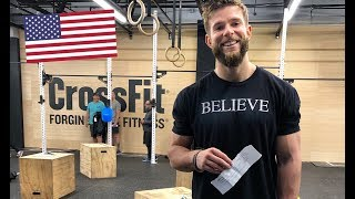 CROSSFIT OPEN WORKOUT 19.3 at CROSSFIT HQ