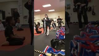 Leadership uniform presentation! Victory Martial Arts