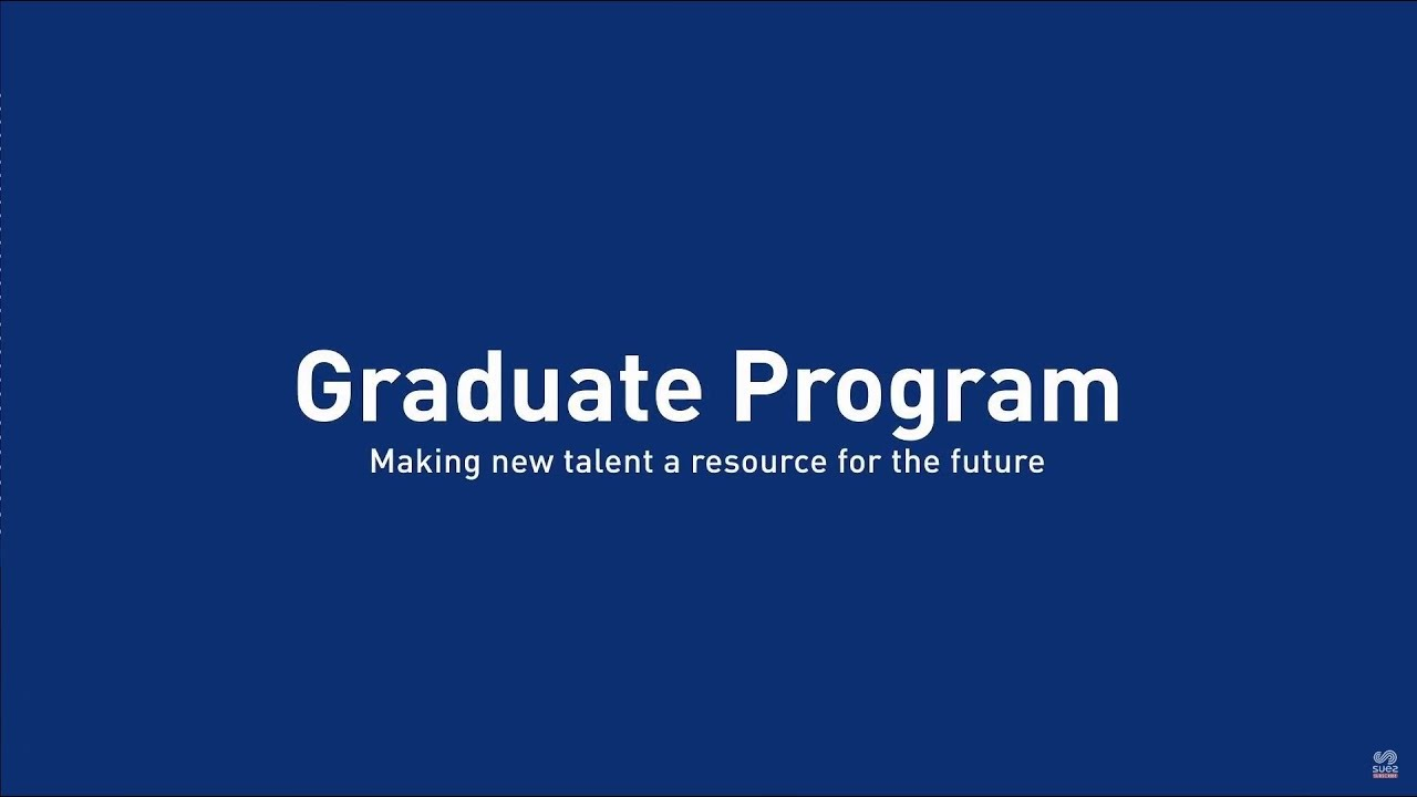 Students and young graduates - SUEZ Group