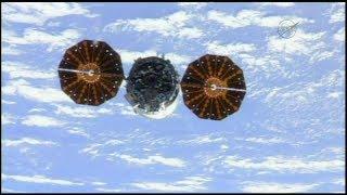 "Cygnus OA-7 ""SS John Glenn"" Release & Departure (time lapse)"