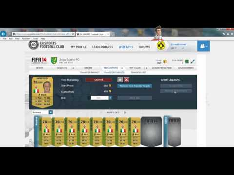 Fifa 14 Tutorial Como ganar monedas Fifa facil!! No falla Xbox One