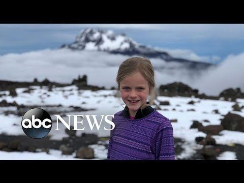 7-year-old Texas girl just climbed Mt. Kilimanjaro as tribute to her late father