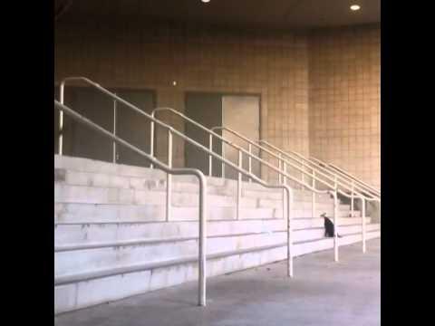 Skating downtown San Diego