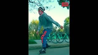 어린이 성인 발광 인라인 롤러 스케이트 사이즈 조절SS…