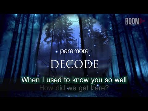 Paramore: Decode (Karaoke Version)