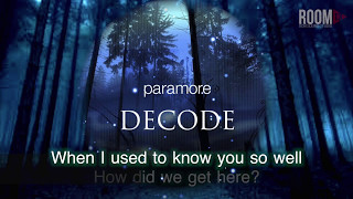 Paramore: Decode (Karaoke Version)