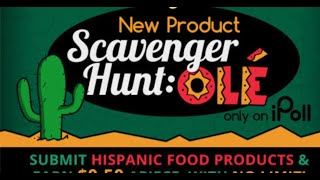 iPOLL : How to WIN Grand Prize for Ole Scavenger Hunt. FREE AMERICAN AIRLINES MILES