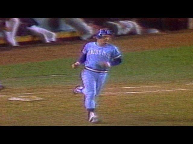 Kansas City Royals History 1980 Team Clinches World Series Spot