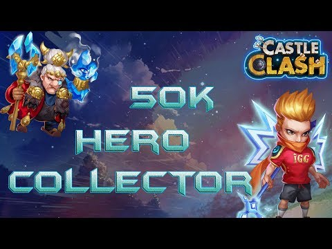 MaHatma Lucky Hero Collector 50k Gems - Castle Clash