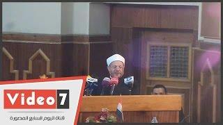 بالفيديو .. مفتى الجمهورية: الإعلام كان سلطة رابعة والآن أصبح صانع السلطة