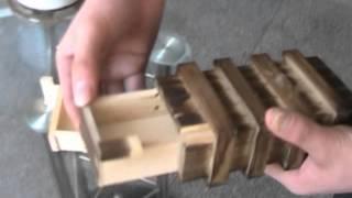 Compartment Wooden Secret Magic Puzzle Box