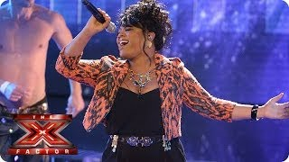 Lorna Simpson sings So Emotional by Whitney Houston - Live Week 1 - The X Factor 2013