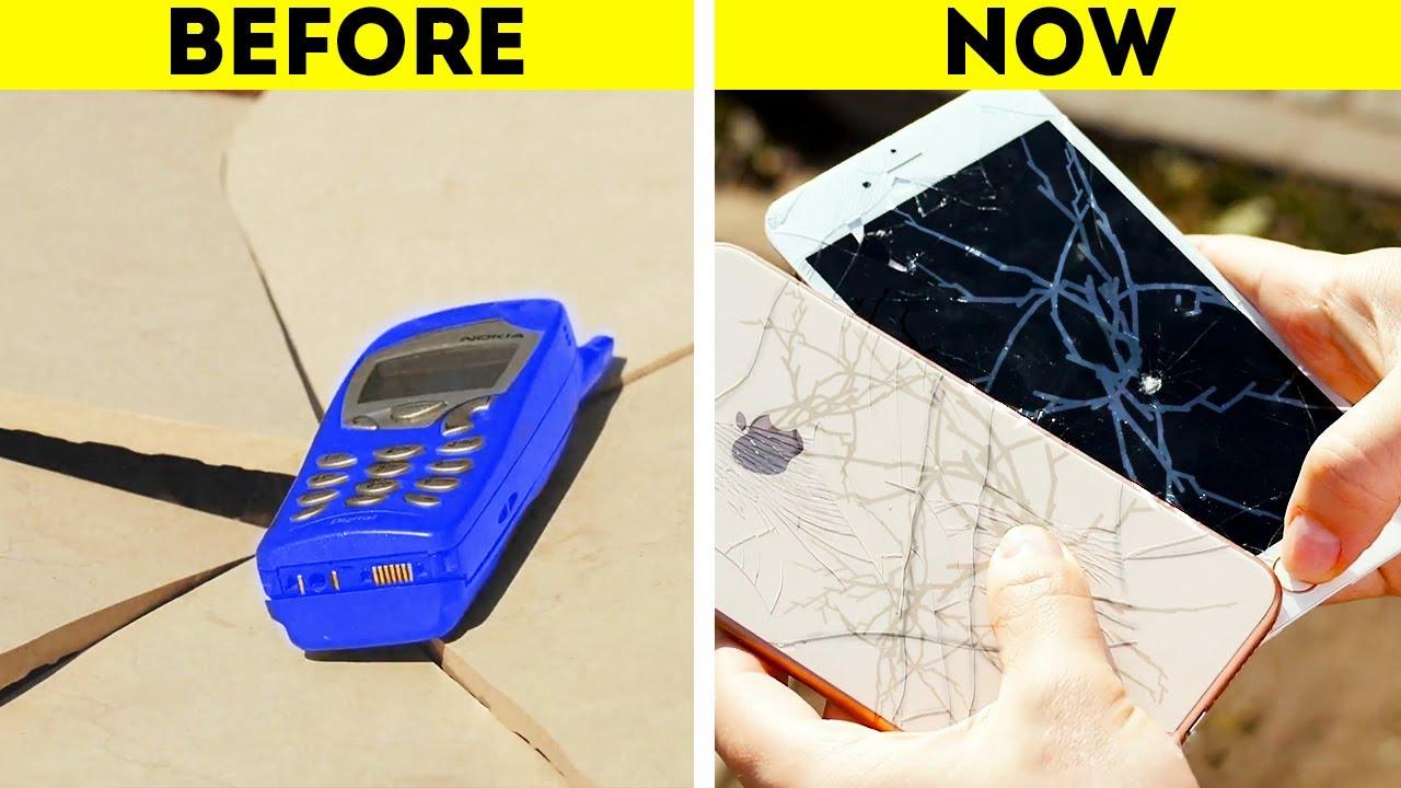 Животот пред и после појавата на смартфоните