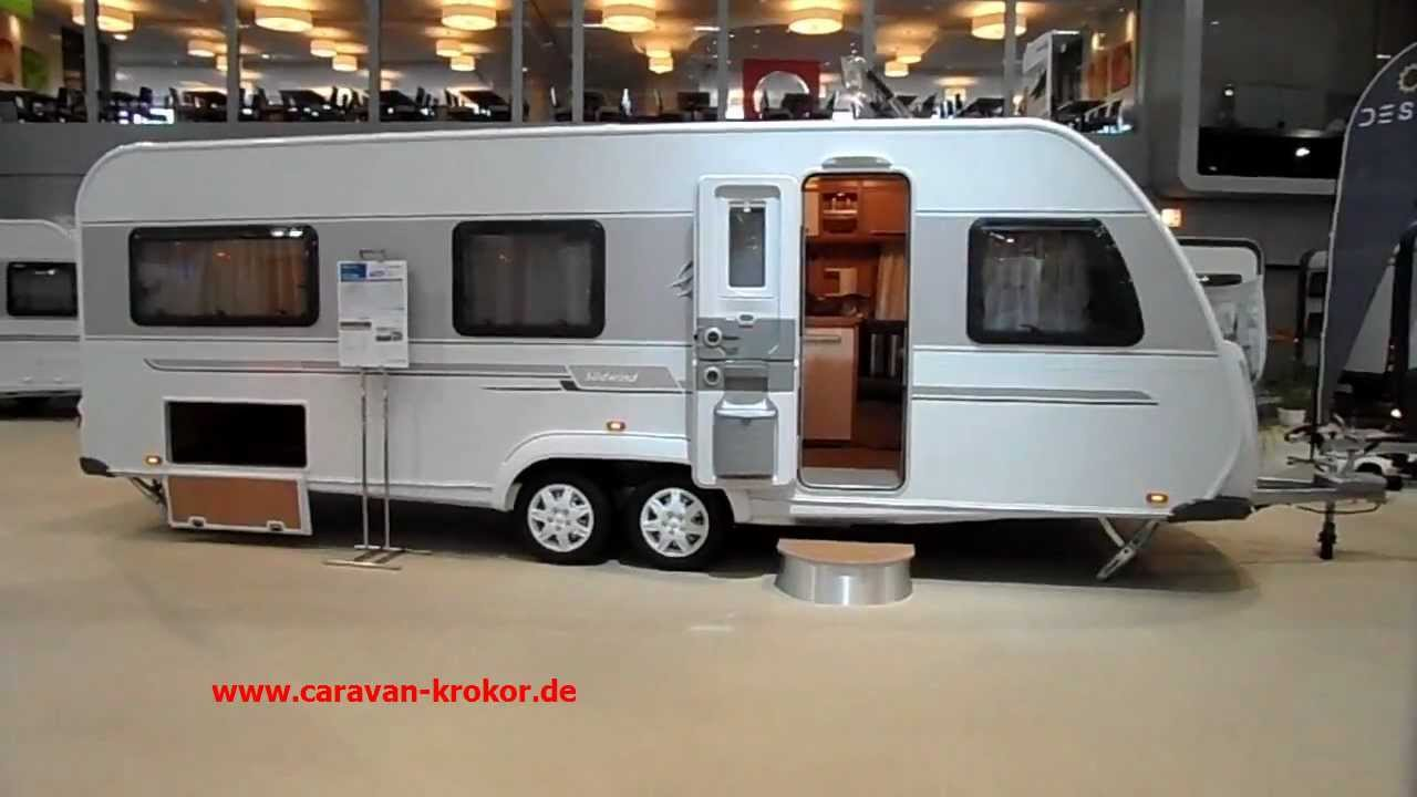 KNAUS Südwind 650 UDF 2012 Wohnwagen test Urlaub - YouTube