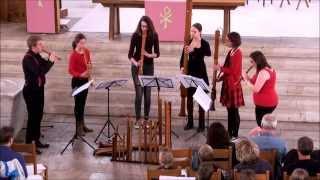 Paduana en Gaillard uitgevoerd door Esito Blokfluitensemble 30 maart 2014
