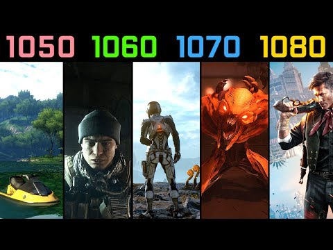 GTX 1050 Ti vs. GTX 1060 vs. GTX 1070 vs. GTX 1080 | Test in 5 Games