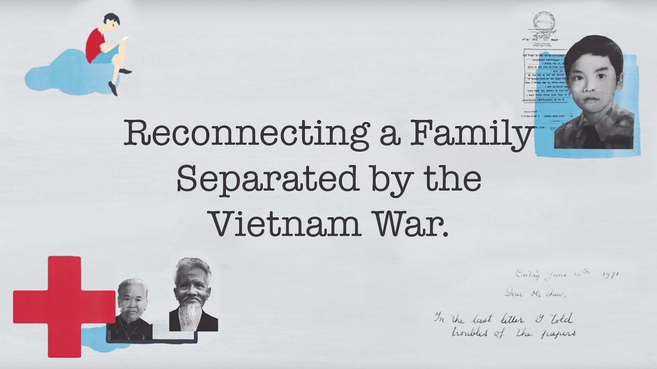 My Mother's One Wish: How the Red Cross reconnected a family separated by the Vietnam War