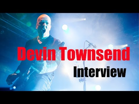 "DEVIN TOWNSEND - ""Transcendence"" interview"