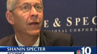 Shanin Specter comments on Kraft Factory Shooting Award - NBC 10 News, March 30, 2015