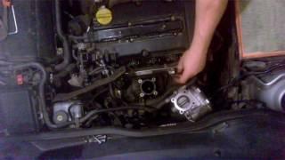 Opel Astra g - чистка форсунок в гараже