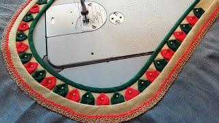 stitching of a beautiful back neck design of blouse   fashion designing