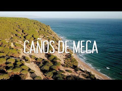 Caños de Meca a vista de dron