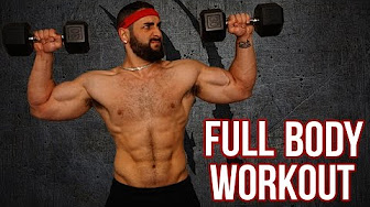 home dumbbell workouts to build muscle  youtube