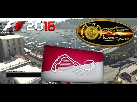 Master League F1 2016 #06 GP Monaco Montecarlo 24.11.16 - Live Streaming 1080p