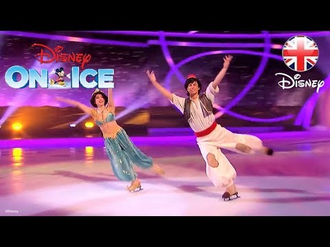 DISNEY ON ICE  Disney On Ice Comes to Dancing On Ice   Disney UK