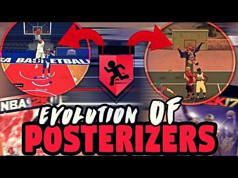EVOLUTION OF POSTERIZERS IN NBA 2K (NBA 2K11- 2K17)