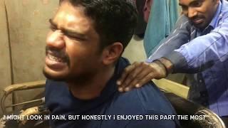 Best Street Indian Head & Back Massage by Munna Lal Sharma|ASMR