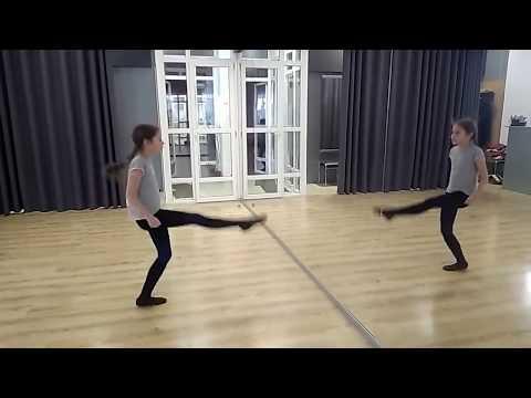 Учим вместе с детьми ирландский танец Рил  Learn with the children Irish dance Reel