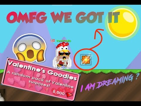 I Bet You Don't Believe What I Got From Valentine's Pack ! | Growtopia