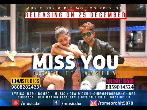 Miss You DeA Music Studios, Romeo- Music DXR , BUDS Family