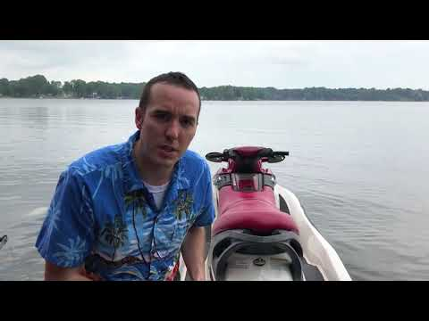 Leak testing jet ski after engine work / Exhaust manifold pipe replacement!