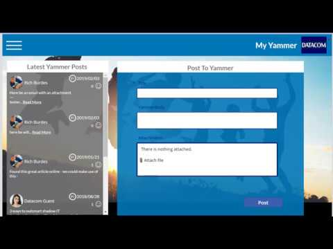 Post a Message With Image To Yammer Via PowerApps and Flow