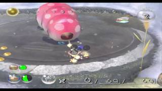 Pikmin 2 Hacking - Fighting Empress bulblax out of caves!