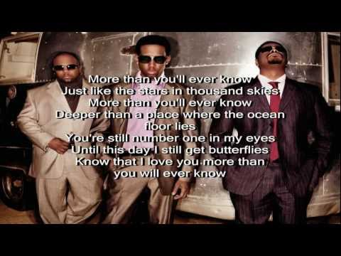 Boyz II Men - More Than You'll Ever Know (feat. Charlie Wilson) with lyrics