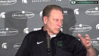Tom Izzo Press Conference 3-11-15 Previewing the Big Ten Tournament