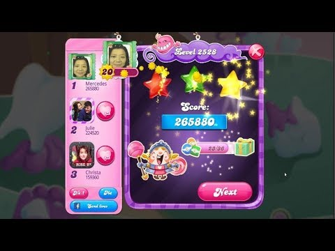 Candy Crush Saga 2528 | Hard Level | 3-Star ⭐⭐⭐
